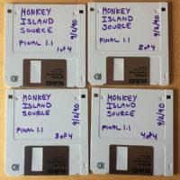 Diskettes con el código original